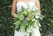 Flowers to Hold - Green Bouquets / by Dandie Andie Floral Designs