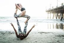 Yoga With Friends / Who wants to practice some of these poses with me? :)
