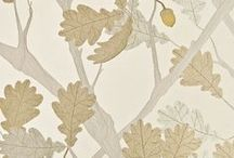 botanical patterns / Drawn and designed patterns of flowers and plants. Textiles, paintings, and other art.