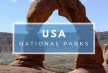 USA - Guides to National Parks / The beauty of the US National Park system and the wonders of the Americas' wilderness. From waterfalls to mountain ranges, great plains to forest groves. ... |USA National Parks | National Parks in the United States| #FindYourPark