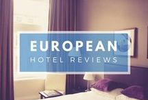European Hotel Reviews / Where's the best place to stay? If you're travelling in Europe check out these accommodation reviews.... | European Hotels | Hotels in Europe | #HotelReview