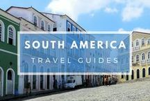 South America - Travel Guides / Thinking of exploring a South American country? Find lots of inspiration and plenty of travel guides right here... |Travel in South America | South American Travel Guides | Exploring South America #SouthAmerica