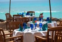 "Restaurants & Bars / At The Club Barbados, guests can enjoy oceanfront dining with international flare, or Caribbean classics with your favorite cocktails. The resort boasts two restaurants and three bars including our popular Beach Bar (be sure to try our famous ""Green Monkey"")."