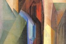 Art -- Feininger, Schwitters / by Philip A. Kelsey
