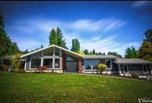 Renovation Design Ideas - Brookleigh / Villamar Construction renovations of a home on Brookleigh, Victoria BC.  Featuring interior & exterior design ideas for kitchens, livingrooms, fireplaces and exterior finishings.