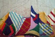 tejer en telar - weaving in the loom