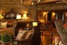 Cabin Fever / Rustic Design to Warm the Soul