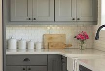 Kitchen/Bath/Laundry room / Color and design inspiration for the kitchen, bathroom or laundry room