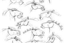Bocetos / Bocetos de dibujos, anatomía....