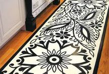 Inspiring Floors / Striking examples of flooring and floor coverings that make a big difference in your design!