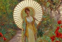Art and the Parasol / Pin whatever strikes your fancy. / by Carol