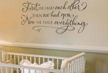 baby room ideas :-)