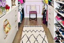 Closet Inspiration / Find creative ways to organise your wardrobe.