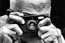 Henri Cartier-Bresson (1908-2004) / Henri Cartier-Bresson (August 22, 1908 – August 3, 2004) was a French photographer considered the master of candid photography, and an early user of 35 mm film. He helped develop street photography, and approvingly cited a notion of the inevitability of a decisive moment, a term adopted as the title for his first major book. His work has influenced many photographers.