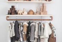 Wardrobes & Organization / To always keep your kid bedroom organized here are examples of awesome and unique wardrobes! Follow us!  More: https://goo.gl/fmpzt5