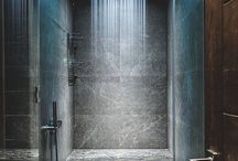 Bathroom: Rain Shower Head