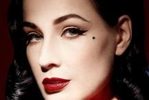 Dita ❤️ / Queen of Burlesque and Style Icon. No pin limits. Happy pinning!
