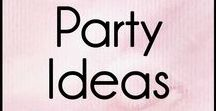 Party Ideas / DIY party ideas and inspiration for birthdays, bridal showers, New Year's Eve or themed parties.