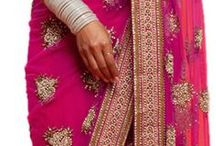wedding dresses / Choosing Indian and British ideas for the two weddings