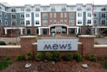 Watertown Mews / Stylish amenities are just the start. Yes, you'll have resident-only access to unbelievable social zones and gaming areas. And yes, the fitness center is club-quality and the pool is indeed hotel-inspired. So, c'mon. Come over. Stay awhile.
