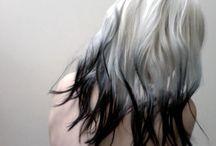 Nailart and hairstyle