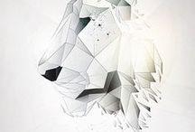 poligonal / polgonal design