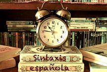 Sintaxis española / Este tablero está diseñado con el material de las alumnas de 4ºESO del Colegio Puertoblanco (Algeciras- Campo de Gibraltar)