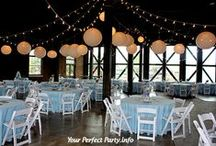Gorgeous glowing Paper Lanterns / Our Paper Lanterns will magically transform your venue. Great for indoor and outdoor events.