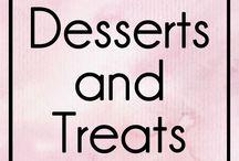 Desserts and Treats / Desserts, Treats, Tarts, Brownies, Baking