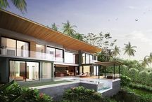 Private Luxury Villas with Panoramic Ocean-views / This is a unique boutique development consisting of 19 two, three and four bedroom villas ranging in size from 216 to 501 sqm. The project is located on the hillside at Chaweng Noi, minutes from both Chaweng and Lamai beaches as well as all activities and amenities Samui has to offer.  For more details contact: www.conradproperties.asia