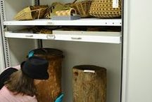Museos, almacenamiento / depósitos de colecciones de museos y mobiliarios