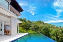 Sea-view 3/4 Bedroom Villa in Samui / NEWLY CONSTRUCTED POOL VILLA IN SAMUI FOR SALE!  - Secluded on the Bang Por hills, only 500m from beach - Stunning 180 degree panoramic sea-views of the gulf of Thailand!  - Spacious 3/4 bedroom/5 bathroom, luxury villa with infinity pool - Sea-views from all 3 floors, private parking, CCTV security  - Expansive interiors: 449 square meters in total! - Price for sale: 20 mil THB (625,000 USD)  - Contact email: info@conradproperties.asia - Telephone: +66 (0) 92 959 1299  www.conradproperties.asia
