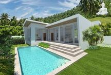 Luxury Pool Villas with Panoramic Views / - Exclusive new boutique project located in Chaweng noi, Koh Samui  - Large 2 bedroom, 2 bathroom villas with expansive terraces & pools  - High quality materials, modern finishing & appliances throughout  - 3 meter high ceilings. Private parking. Land plots: 300-374 sqm  - Prices now launching from: only 6 mil THB! (184,400 USD)  - Contact email: info@conradproperties.asia  - Telephone: +66 (0) 92 959 1299  www.conradproperties.asia