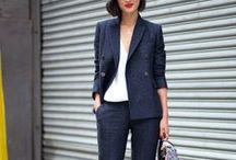 Suits Femme / Suit up for sharp feminine look.