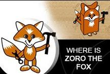Where is Zoro The Fox? / Where is Zoro The Fox?  Has Zoro The Fox been helping you around the office?  The garage?  In the kitchen?  Take a photo so we can admire his handy work!