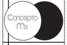 Concepto MX / Concepto MX es una plataforma donde 14 diseñadoras emergentes presentan sus colecciones, estas propuestas tienen como tema principal Mexico, su cultura y tradiciones, lugares y gastronomía, flora y fauna, religión y arquitectura.