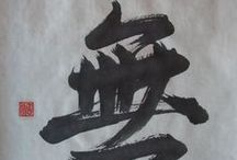 Calligraphie. / Japanese and Chinese calligraphy. / by Eric Stefanelli