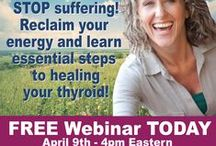 Thyroid News / Quick Health Ideas for Thyroid, Hypothyroidism, Adrenal Fatigue and Hashimoto's and overall Health!