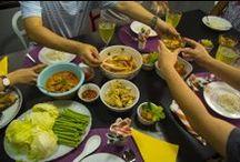 experience Thai cooking school / experience 3 team 12 beautiful people. een Thaise kookcursus