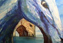 Angel.Kourkoulou fine artist http://www.angelpaints.com/ / http://www.angelpaints.com/rockhorses/rockhorses ROCK-HORSES