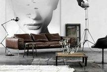Interior design | Interiorismo / Crear espacios con elementos de decoración