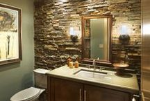 Bathroom / Ideas and How-to's for making your dream bathroom