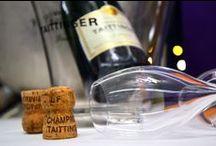 Šampaňské (Champagne) / Odpověď na otázku, které bubliny jsou nejlepší, je jednoduchá. Přesně tyhle. Jednoduše Champagne.