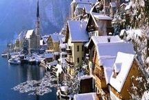 Winter Wonder / Beautiful snowy atmosphere. Winter wonderlands from around the Globe.