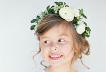 {flower girls inspiration}