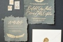 {wedding stationery inspiration}