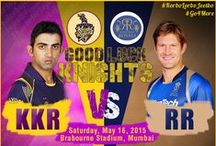Indian Premier League - 2015 / Global Athlete Management Experts (GAME) supports Kolkata Knight Riders in IPL, 2015! #KorboLorboJeetbo #Go4More