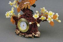 ⌚ бисерные часы ⏰