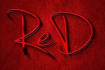 Rood →de kleur van een roos