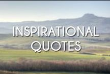 Inspirational Quotes / For inspiration and good feelings.
